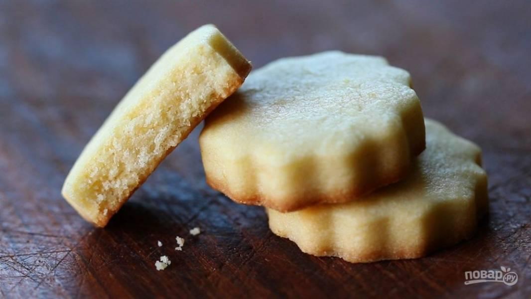 Песочное печенье с апельсином