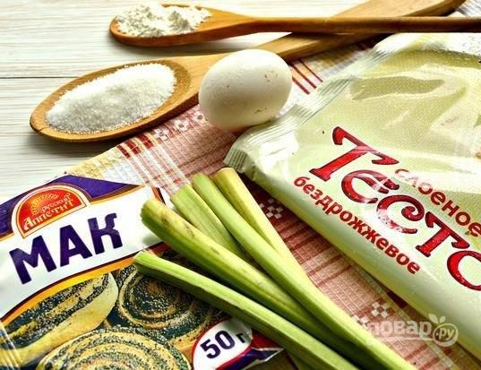 1. Набор необходимых ингредиентов довольно простой и небольшой.
