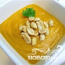 Африканский суп со сладким картофелем и арахисом