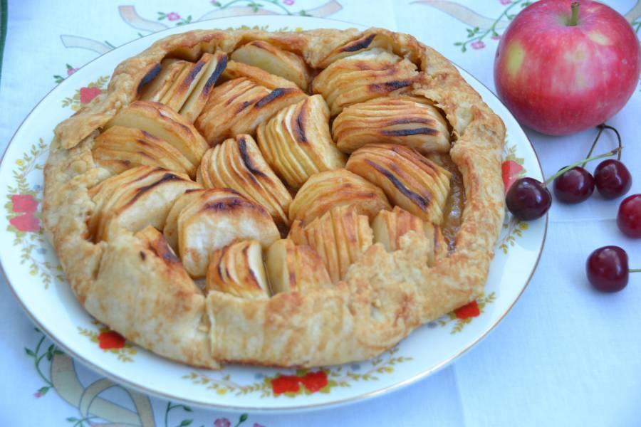 Бретонский яблочный пирог