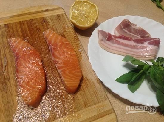1. Вот и все ингредиенты, не считая соли и перца, которые нам понадобятся для приготовления.