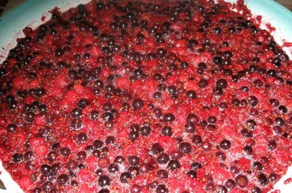 Ставим таз с ягодами на средний огонь и доводим до кипения, варим 10 минут, помешивая.