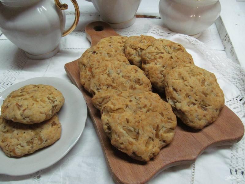 Капустное печенье
