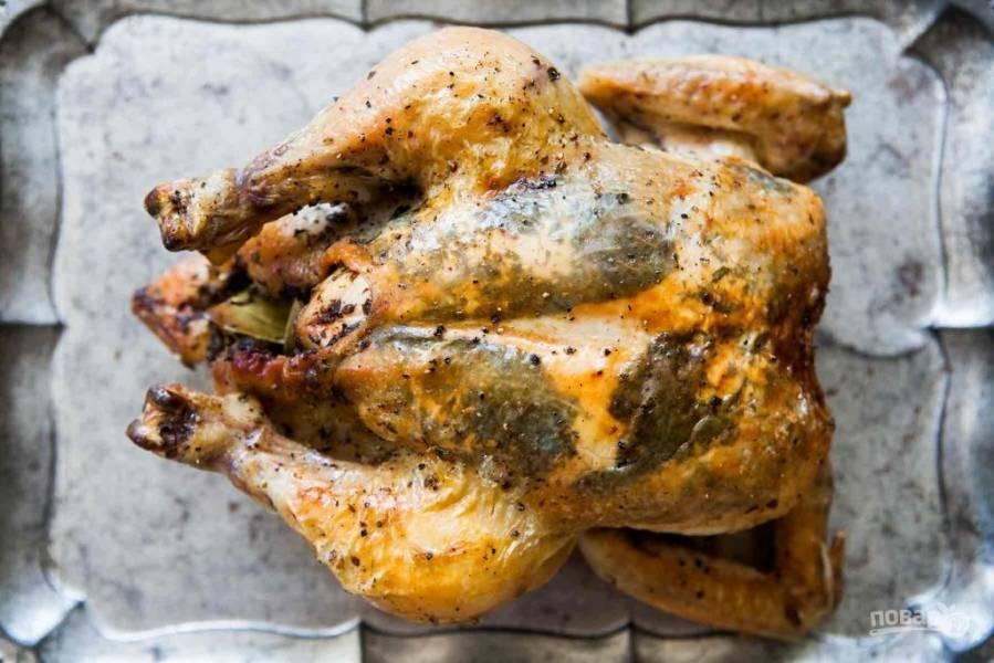 Курица по-домашнему (с травами)