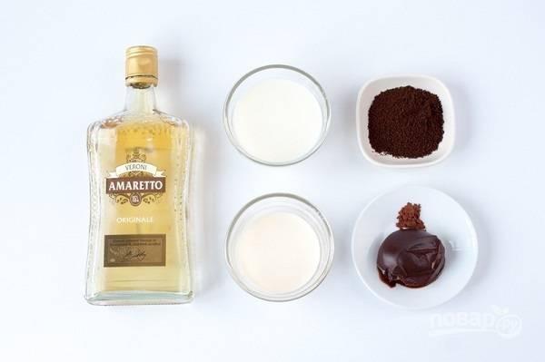 1. Чтобы приготовить этот волшебный напиток, потребуются вот такие ингредиенты.
