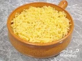И тертый сыр.