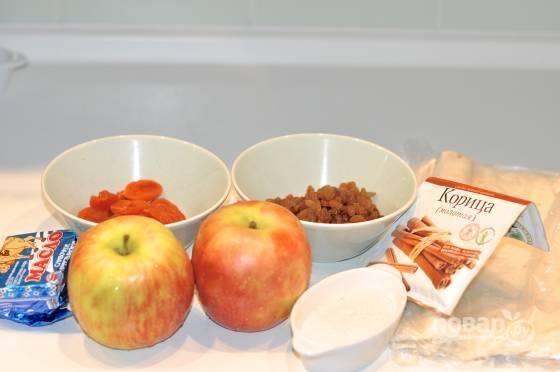 1. Набор ингредиентов для этого лакомства так же прост, как и сам процесс.