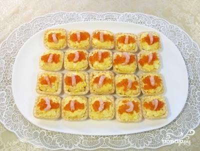 Тарталетки закусочные