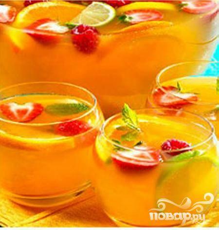 Летний фруктовый пунш