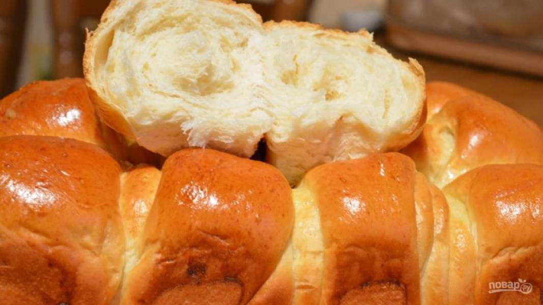 10.Достаем булочки, даем им остыть, после этого можно кушать. Приятного аппетита!
