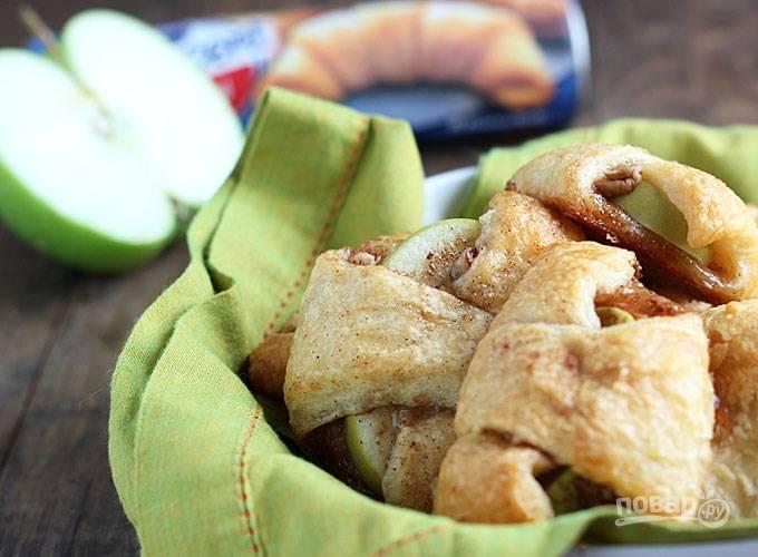 Слоеное тесто (выпечка с яблоками)