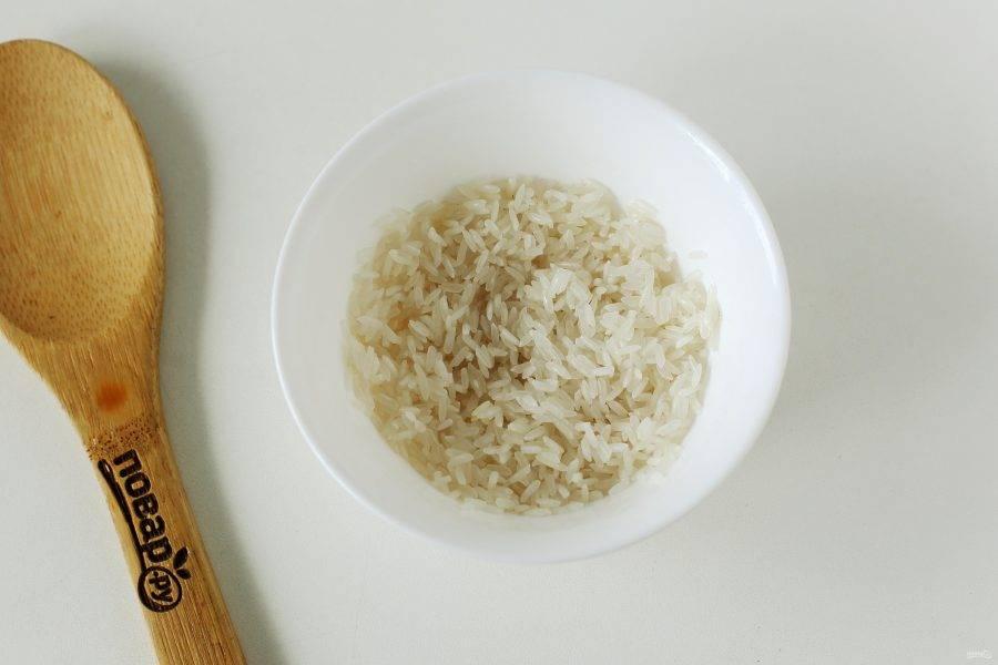 Рис хорошо промойте (вместо риса можно взять перловую крупу или вовсе его исключить).