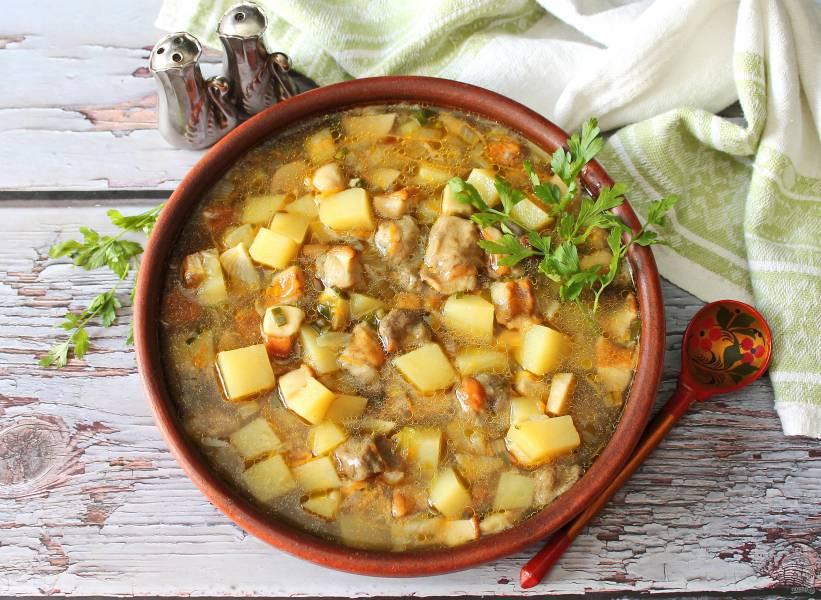 Суп из боровиков