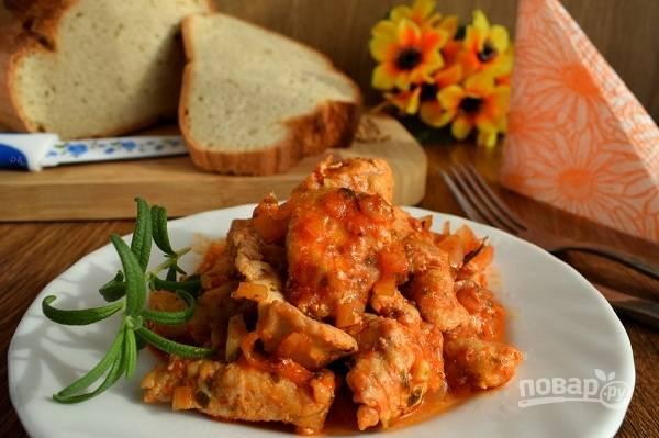 Подавайте блюдо к столу горячим. Приятного аппетита!