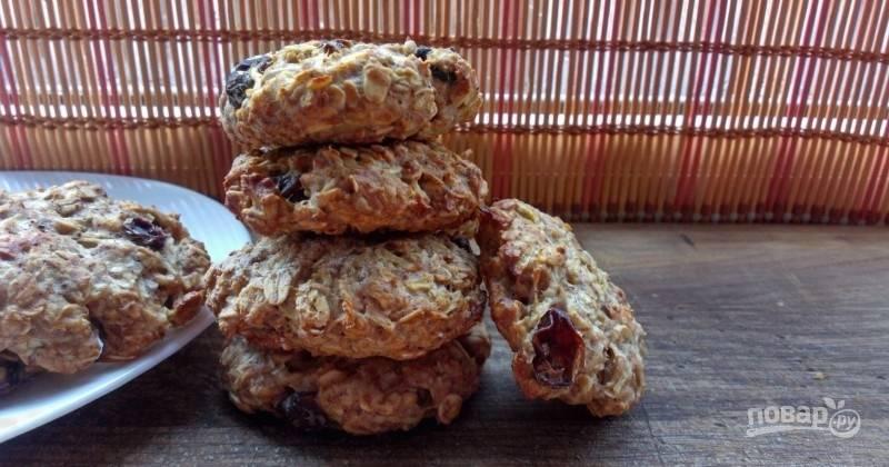 Овсяное печенье с кефиром