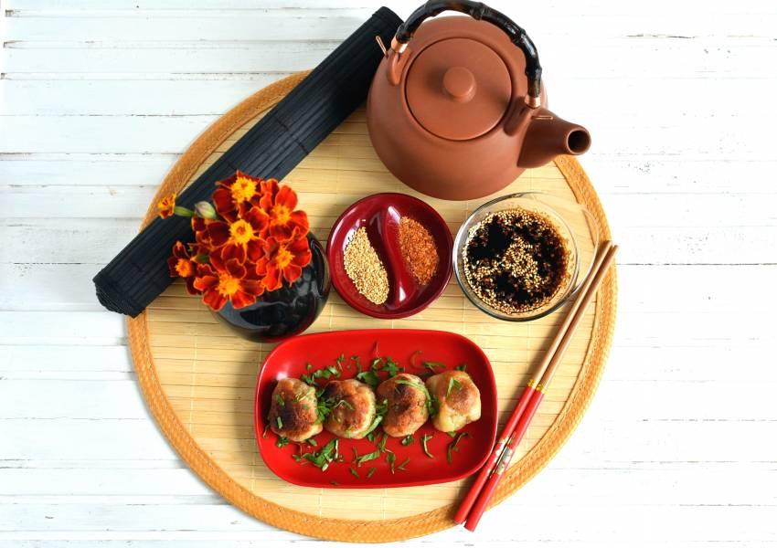 Самые легкие китайские   булочки с мясом
