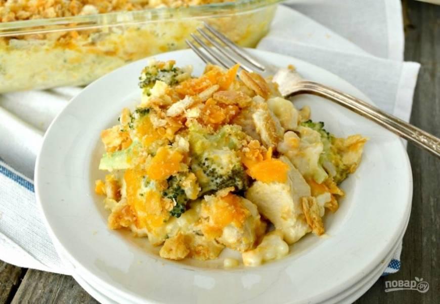 Запекайте блюдо в течение 35 минут при 170-180 градусах. Приятного аппетита!