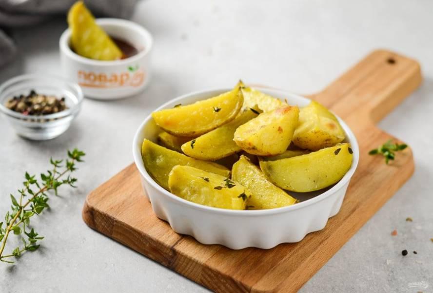 Гарнир из картофеля готов, приятного аппетита!
