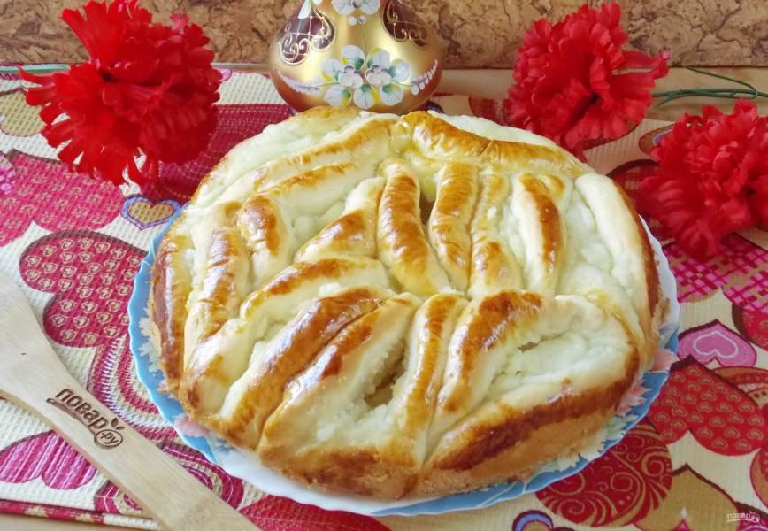 Пирог из пирожков