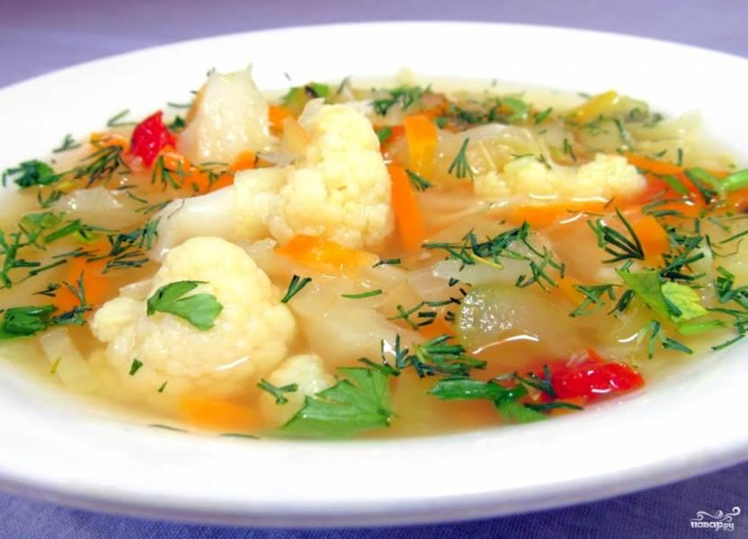 Жиросжигающий суп