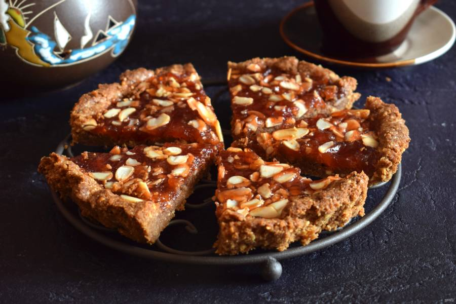 Линзеровский ореховый пирог