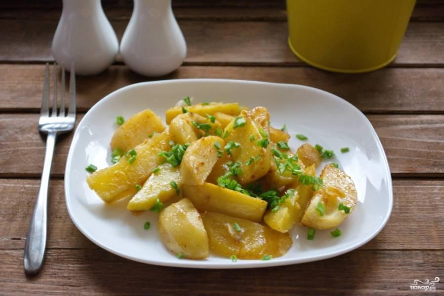 Картофель по-селянски в духовке