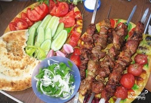 Подать с овощами. Приятного аппетита!