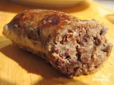 Колбаса из легких