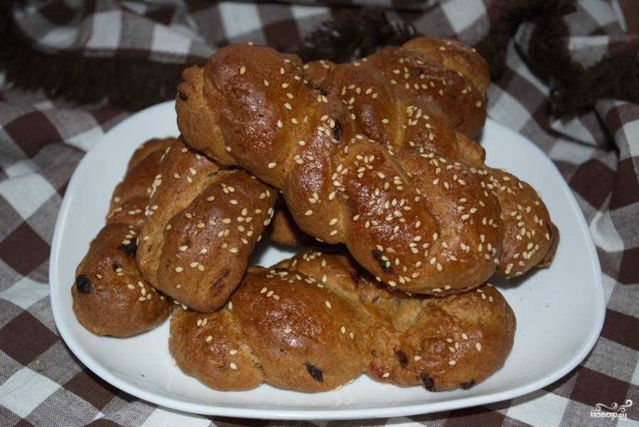 Ржаные булочки