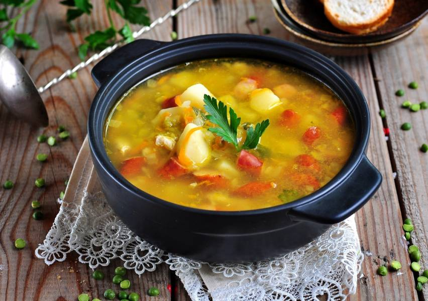 Как приготовить густой согревающий суп (чили, харчо, овощной суп-пюре)