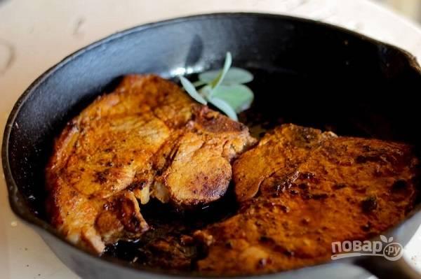 4. Быстрые отбивные на сковороде — это вкусно и просто. Пробуйте!