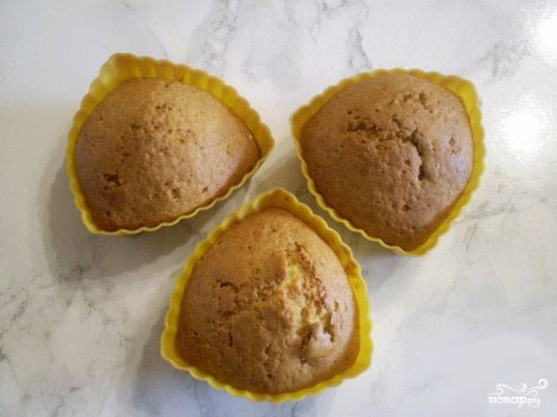 Кексы из простокваши