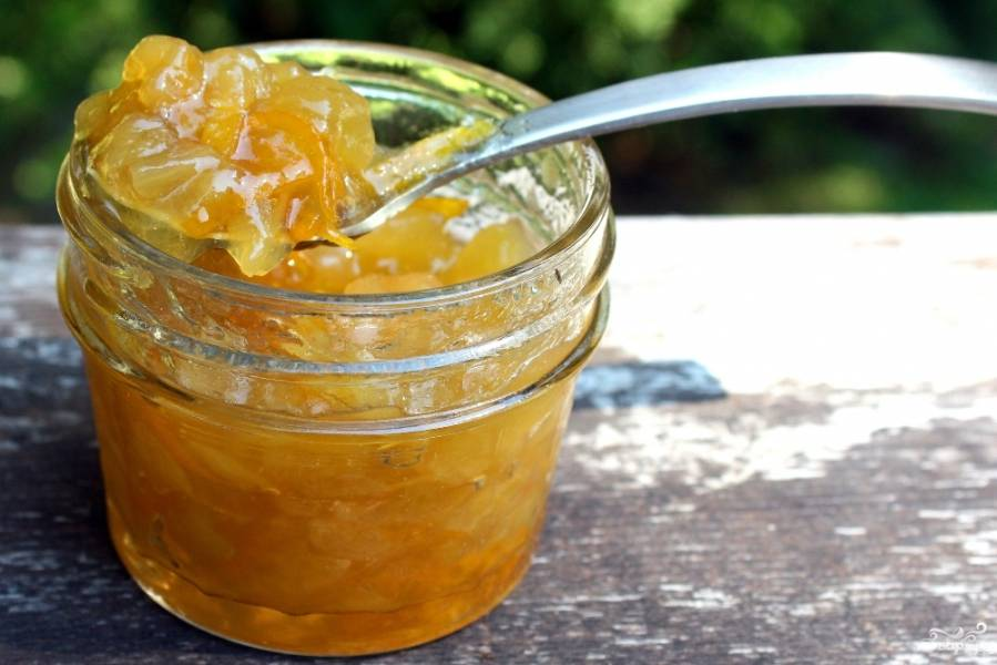 Дыневое варенье с апельсином