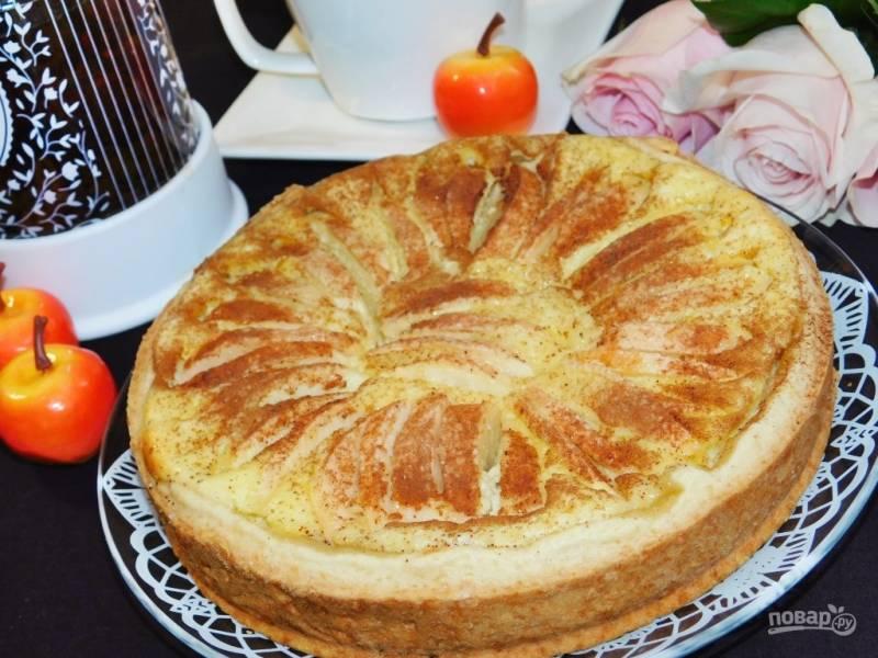 Баварский яблочный пирог