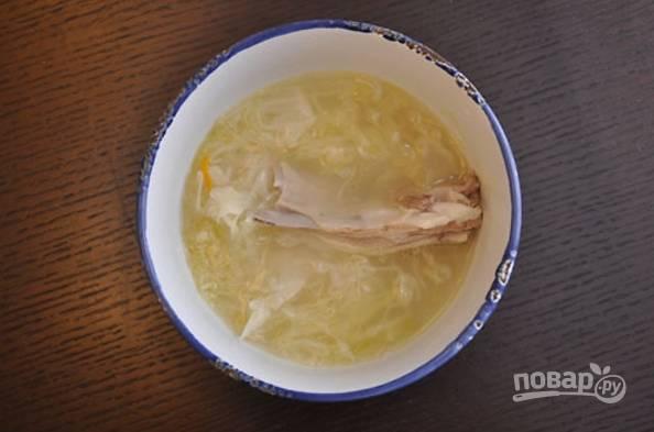 Щи суточные из квашеной капусты (старинный рецепт)