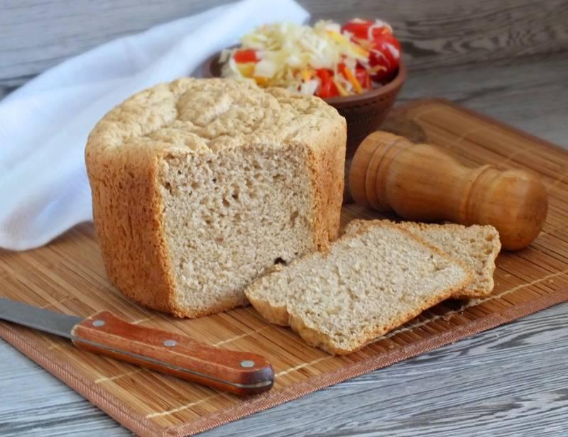 Хлеб на рассоле в хлебопечке
