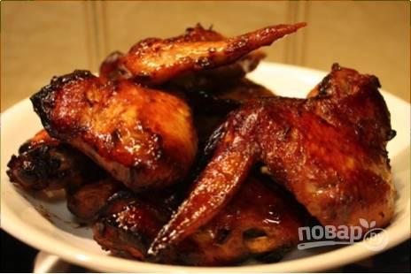 Вкусные крылышки в духовке