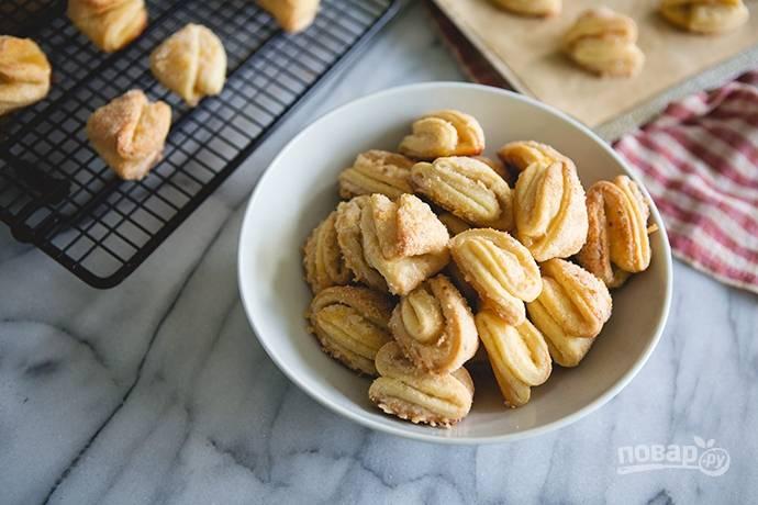 Творожное печенье (простой рецепт без масла)