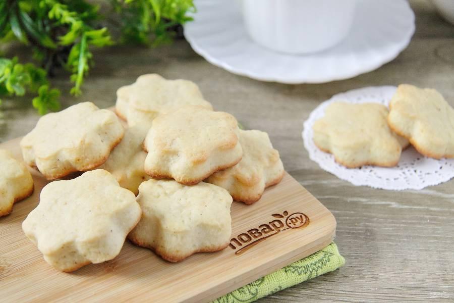 Сдобное печенье на сметане
