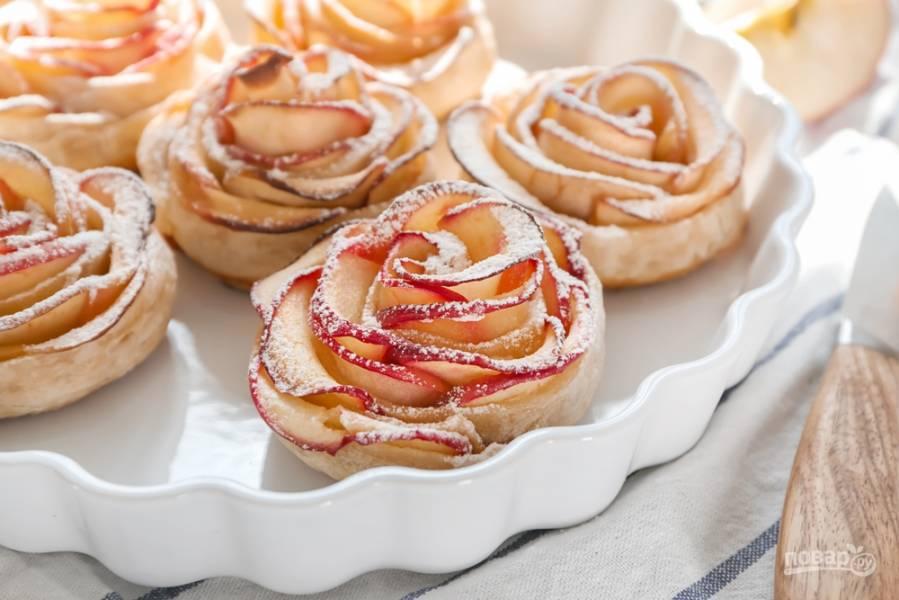Роскошные десерты с яблоками