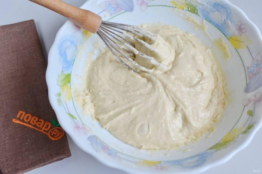 5. Тесто в меру густое, некрутое! Можно добавить ванилин, если любите.