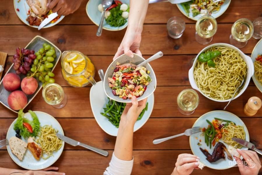 Как приготовить полезный ужин для семьи за 20 минут