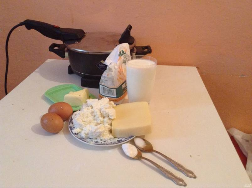 Подготовьте ингредиенты. Отмерьте нужное количество продуктов.