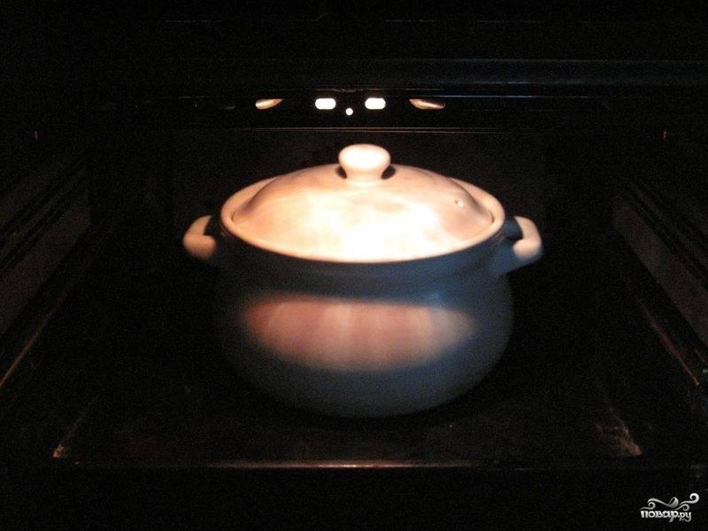 5.Затем снимаем жаровню (или кастрюлю) с огня, выкладываем ее содержимое в другую посуду и оставляем мариноваться примерно 3 часа.