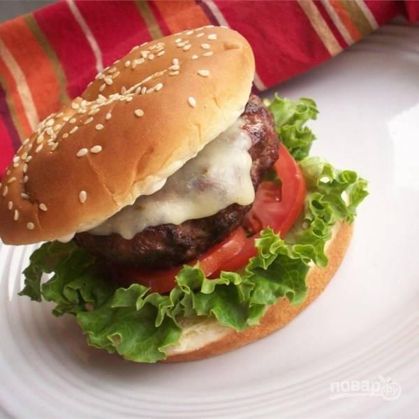 Бургеры (быстрый рецепт)