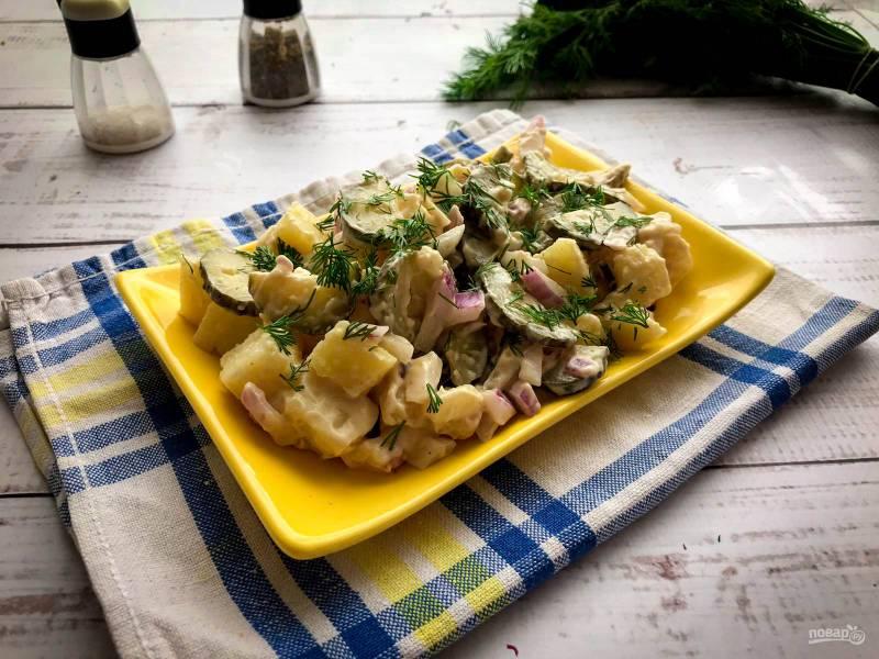 Финский картофельный салат