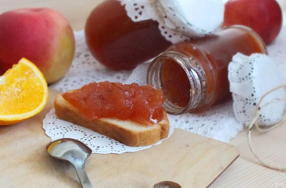 Яблочный джем с апельсинами