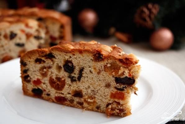 После этого остудите кекс, заверните его в пищевую плёнку и уберите в холодильник на 2-3 дня. Приятной дегустации!