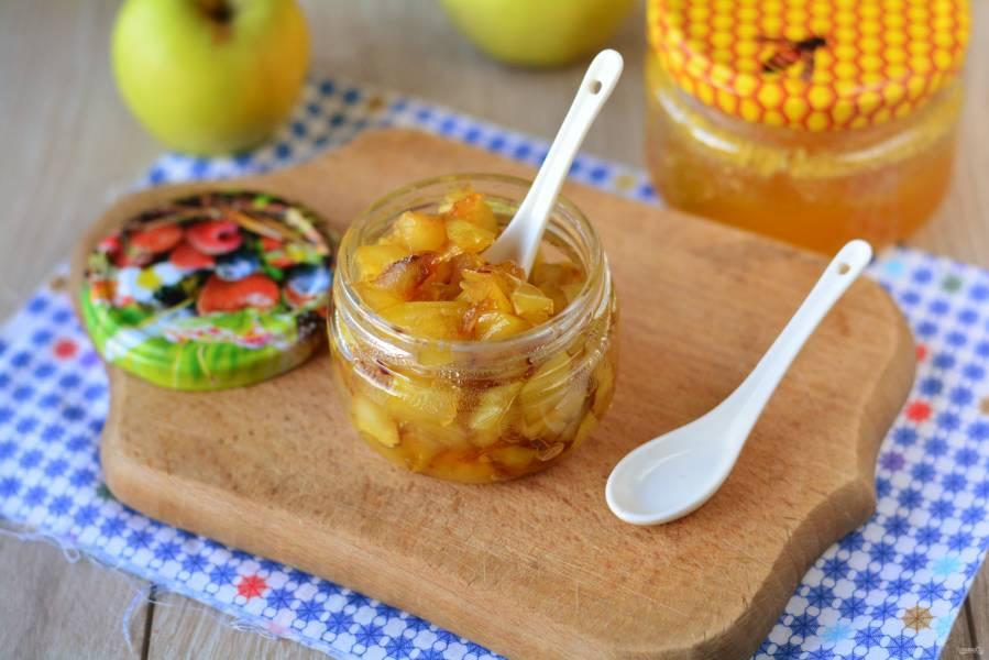 Яблочное варенье с медом