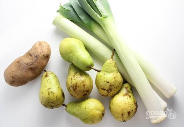 1. Вот такой у нас весьма скромный набор ингредиентов.